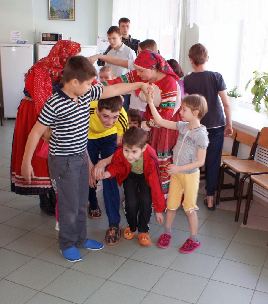 Детские игры в СОККД